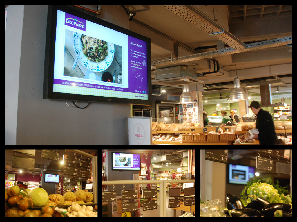 EkoPlaza verstevigt relatie met klanten in al haar winkels met narrowcasting